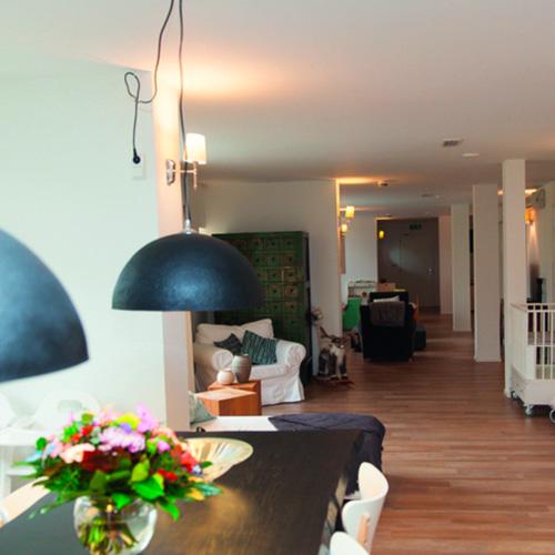 foto van de keuken in het babyhuis
