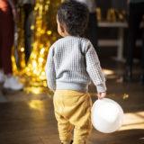kind met ballon